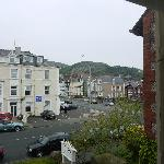 Can see the Great Orme from the room