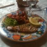 la grigliata di pesce