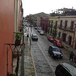 Streetview from one of the balconies
