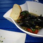 P.E.I. mussels appetizer