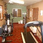 "Enjoy our updated ""Fitness Room"""