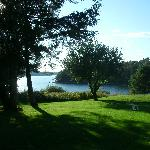 This gorgeous view of Contention Cove remains unchanged in the 32 years we have owned the Surry