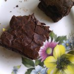Gorgeously rich brownie!