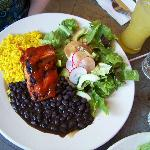 Grilled Wild Salmon Plate BBQ