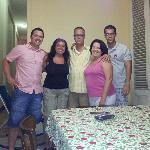 Con la familia!