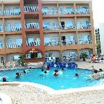 This is the pool area.