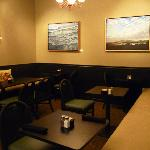 Indoor dining alcove