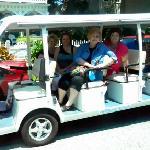 our tour cart