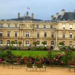 Luxembourg gardens nearby