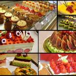 Some of the cakes available from nearby stores!