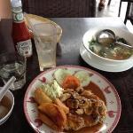 chicken chop and veg soup