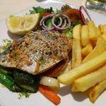 Seabream - day time menu