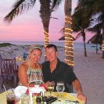 Romantic Dinner at Sunset Bistro on the beach
