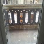 balcone scrostato