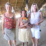 Besuch bei einem Indianerstamm