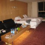 stanza molto grande