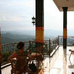 Upper balcony, Aditya Home Stay, Munduk