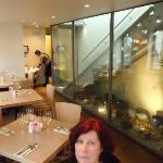 Rear of restaurant