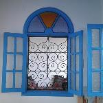Detalle de la ventana del comedor