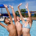 Fun in the Kids Pool