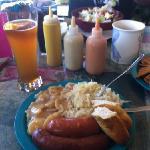 German Sausage Sampler