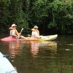 aqui en kayak en la quebrada Gaminata