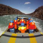 Arctic white water jetboat trips in Iceland