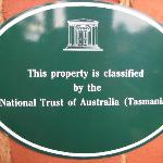 National trust listed building