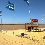 playa rambla catalunya