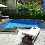 Pool at Lotus suite