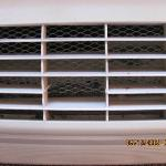 HVAC grill damaged