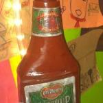 Dirty ketchup bottle!