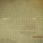 Room #108: carpet soil everywhere!