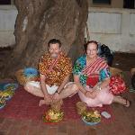 Waiting to give alms - Luang Prabang