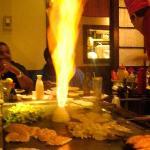 Onion fire pit