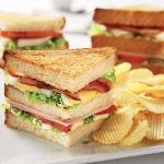 Cafe Flo Club Sandwich