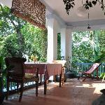 Room Three Veranda, Villa Jacaranda