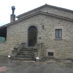 L'ingresso della struttura principale