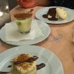 les desserts!!!!