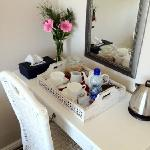 Dressing table & tea/coffee tray