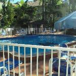 the lovely pool & gardens