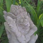 Garden Statue on Kelapa Grounds