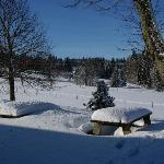 La terrasse cet hiver