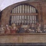 affresco nel chiostro dei Canonici