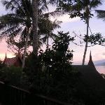Amazing sunsets towards the islands