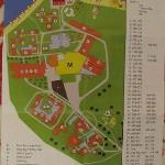 Map of the hotel complex