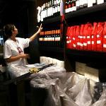 de wijnbar