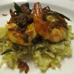 Kerala Prawns with Pachakari Thoran