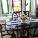 Table in Yellow House