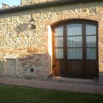 ingresso della nostra camera dall'esterno della struttura